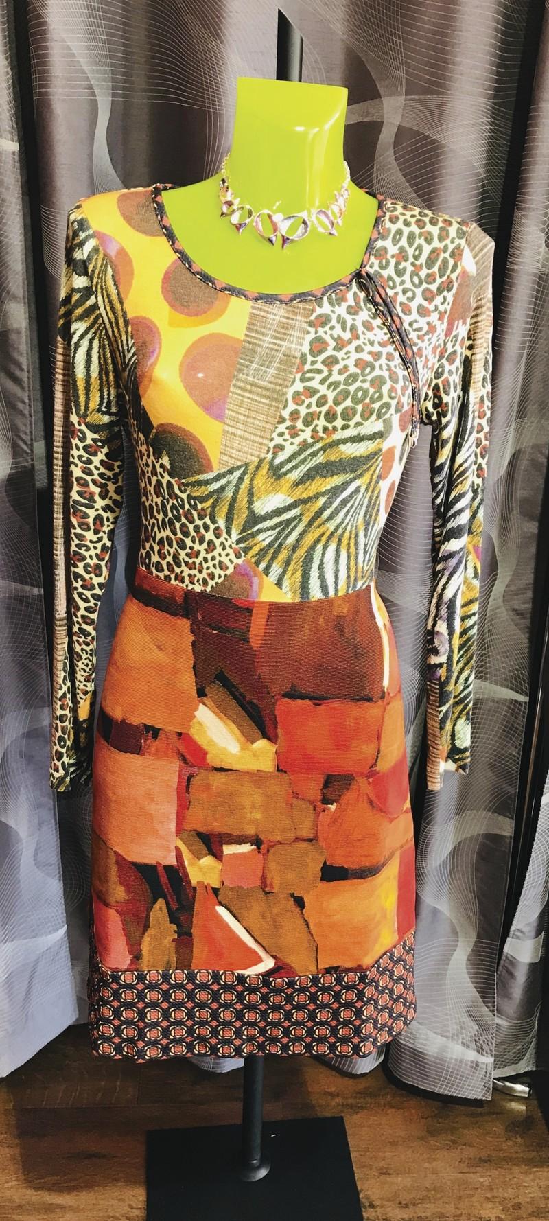 robe orange olivier philips - Robes  - VOTRE BOUTIQUE - Voir en grand