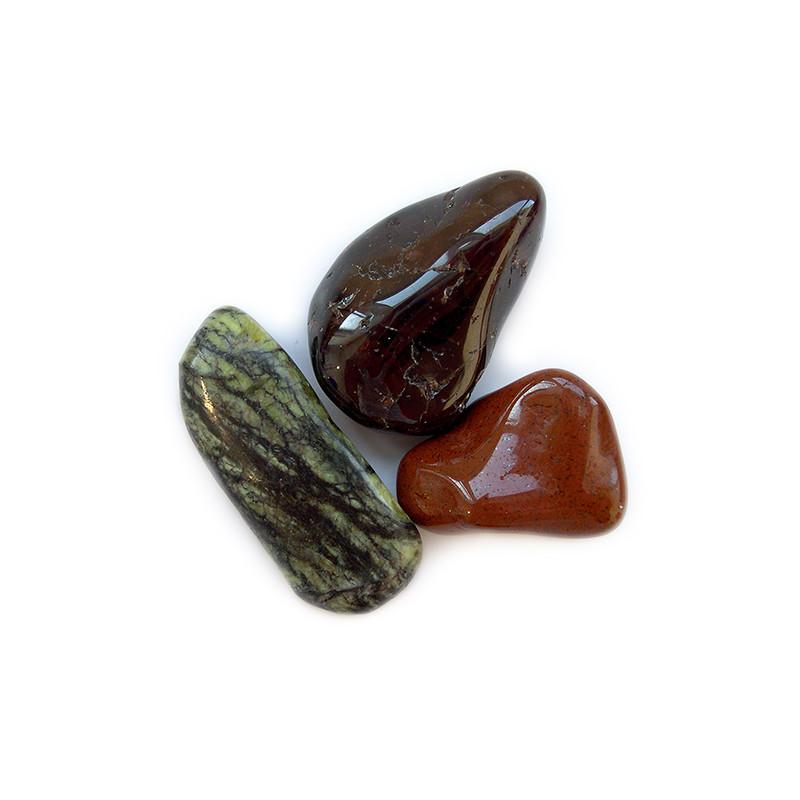 Pochette 3 minéraux - Bien être - POM5 - Voir en grand