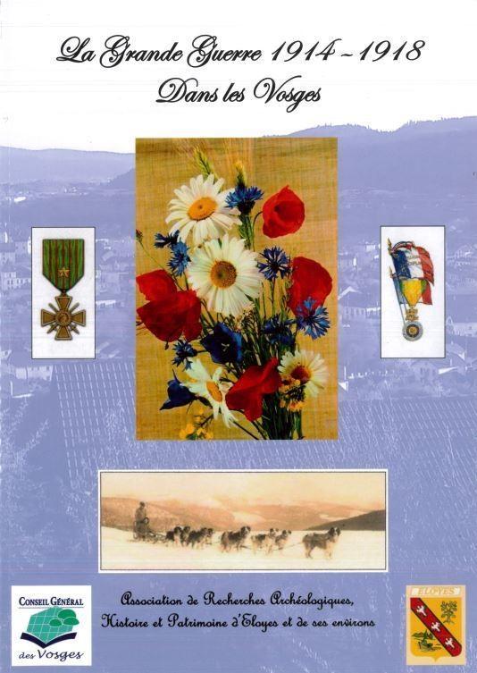 LA GRANDE GUERRE 1914-1918 DANS LES VOSGES - Librairie des Vosges - LE CHIQUITO MAISON DE LA PRESSE  - Voir en grand