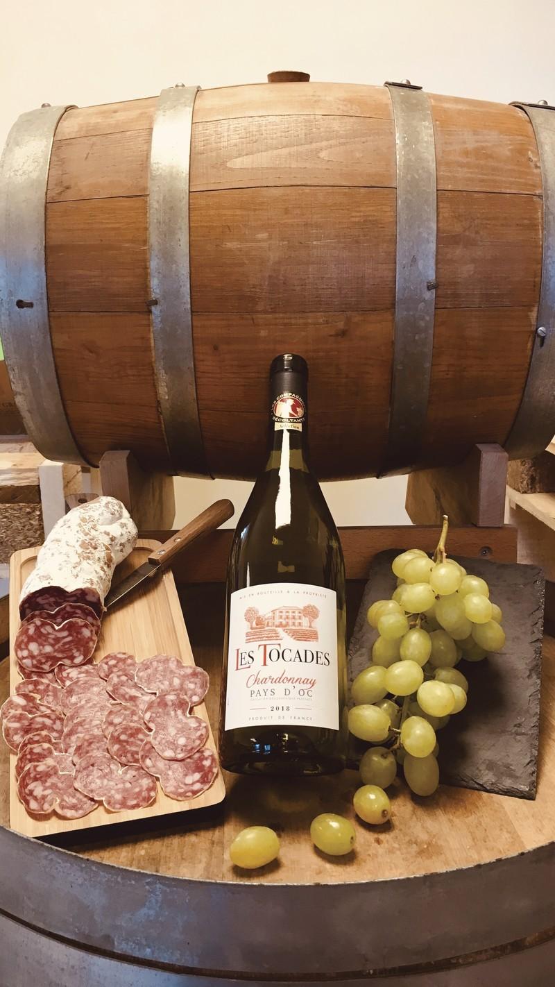 Chardonnay Pays D'OC 2018 - Blancs - DISTRI ABOUT - Voir en grand