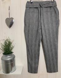 Pantalons Chino carreaux paperbag - 2.jpeg