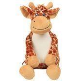 Girafe en peluche personnalisée - Voir en grand