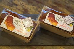 pain d'épices mirabelles - Voir en grand