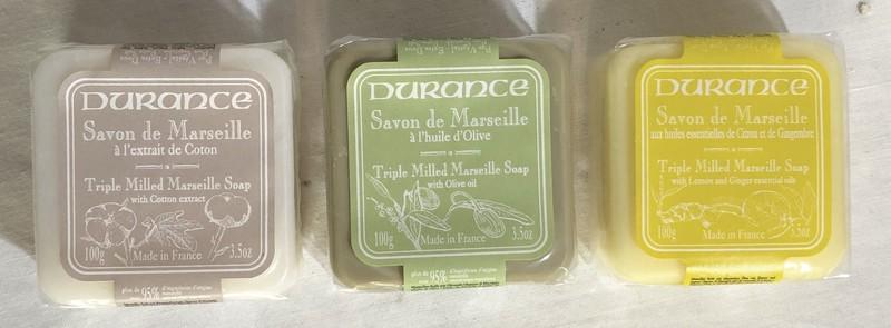 Petit savon de Marseille DURANCE - Voir en grand