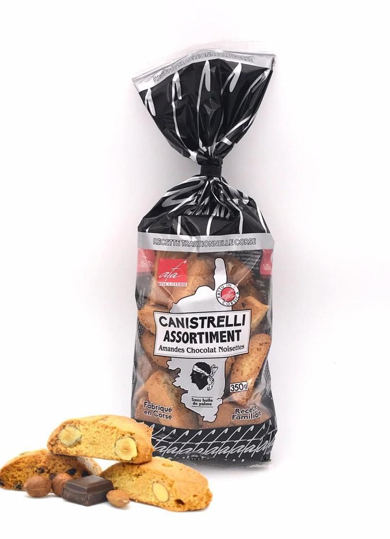 ASSORTIMENT DE CANISTRELLI - AMANDES - CHOCOLAT - NOISETTES - CANISTRELLI - BOUTIQUE DU CONCORDE - Voir en grand