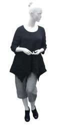 Pantalon Grande Taille g!OZé Silhouette - Voir en grand