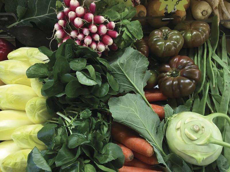 Le Panier de Muriel tous les Vendredis et Samedis 25¤ - corbeilles de légumes - AUX QUATRE SAISONS - Voir en grand