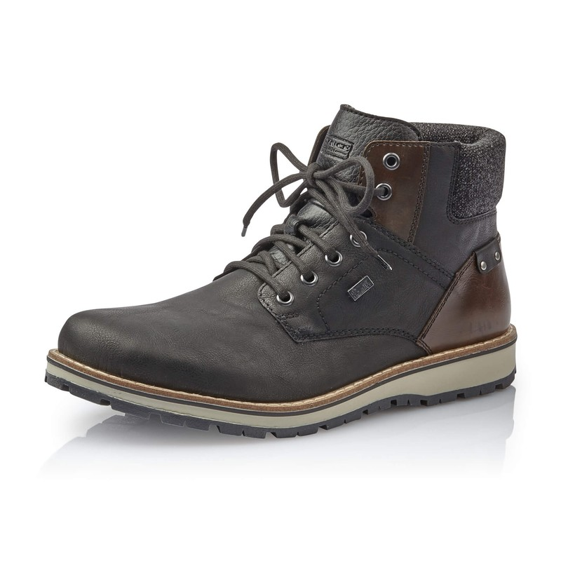 9b32484d0dffef Rieker 38434-00 boots garantie impermeable pluie neige noir marron.jpg