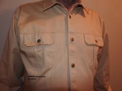 Chemise 2 poches poitrine d'une très grande qualité, très grandes tailles.  - Voir en grand