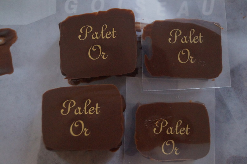 PALET D'OR Ganache Nature - Voir en grand