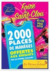 Foire du Saint Clou 2019 Toul  - Voir en grand