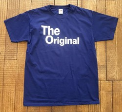 T-shirt bleu The original - Voir en grand