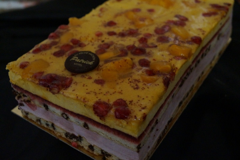 baya mangue et fraises des bois - Voir en grand