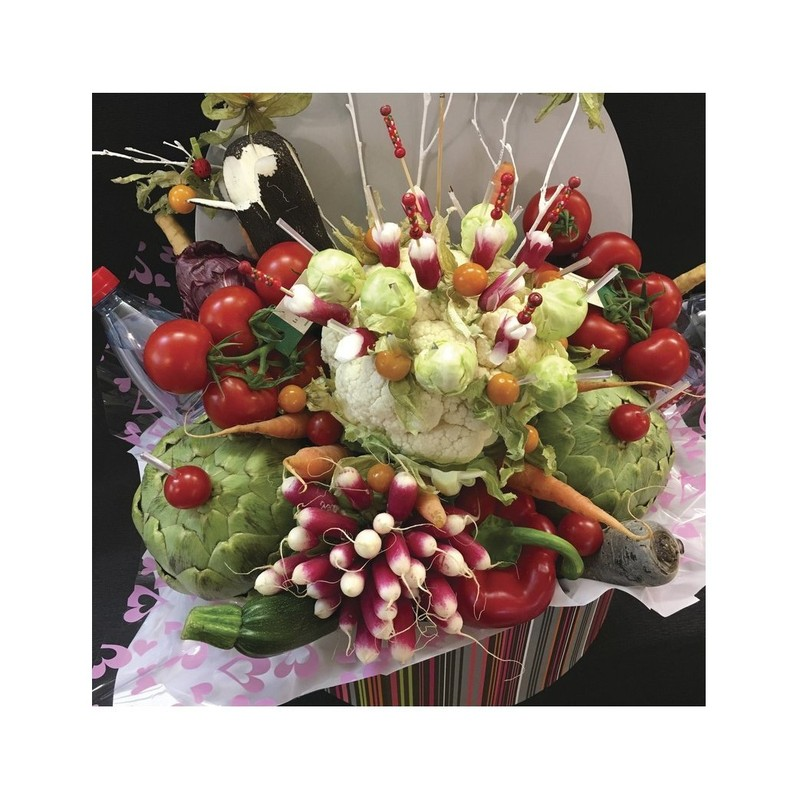 La corbeille de légumes - corbeilles de légumes - AUX QUATRE SAISONS - Voir en grand