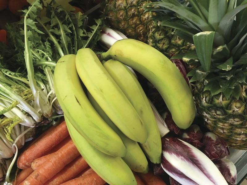 Le panier de muriel 15¤ - corbeilles de légumes - AUX QUATRE SAISONS - Voir en grand