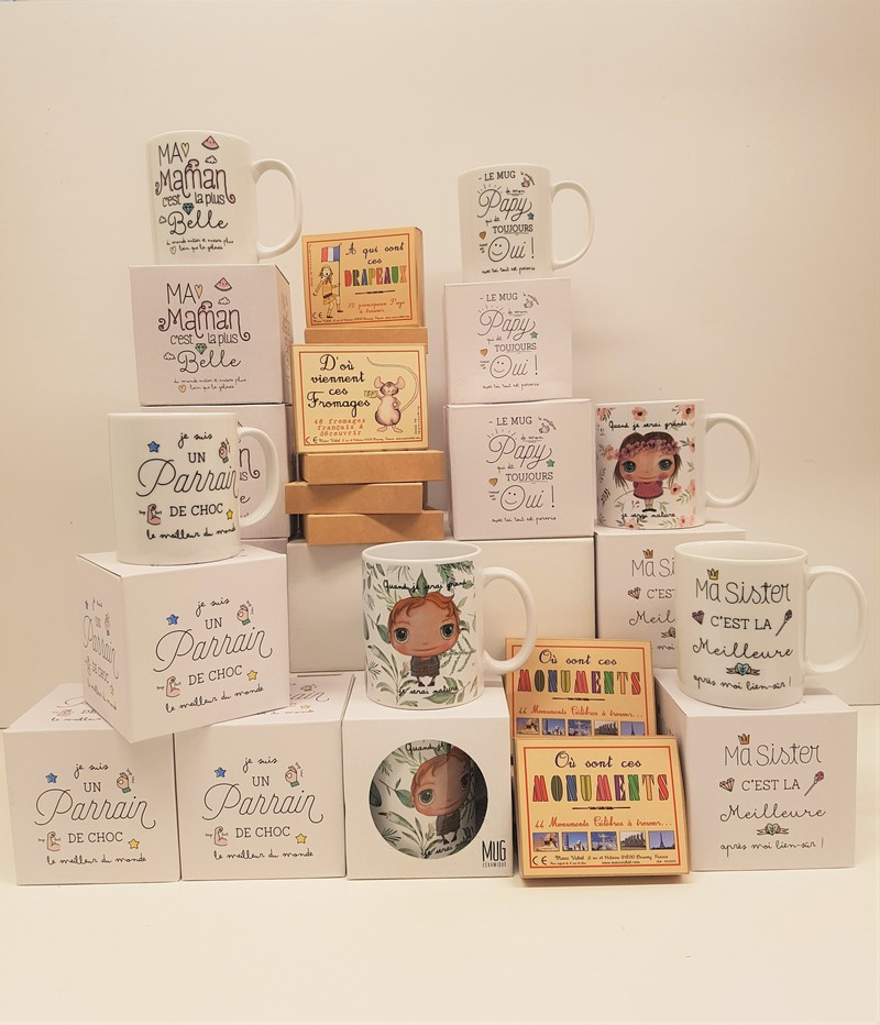 Idées Cadeaux -  - MARCHE ET CAFE - Voir en grand
