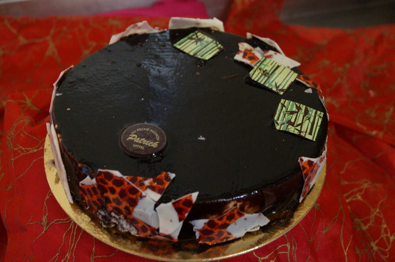 laïka citron vert et chocolat noir  - Voir en grand