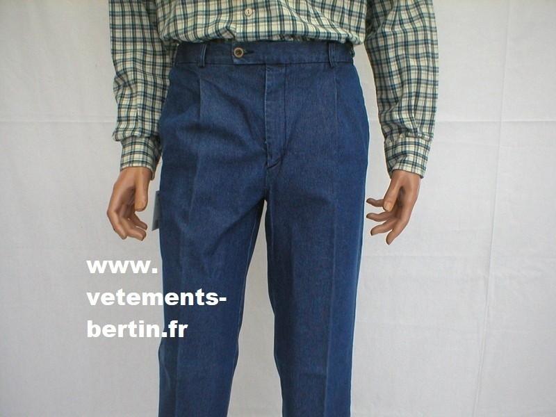 Jeans homme en très très grande taille - Voir en grand