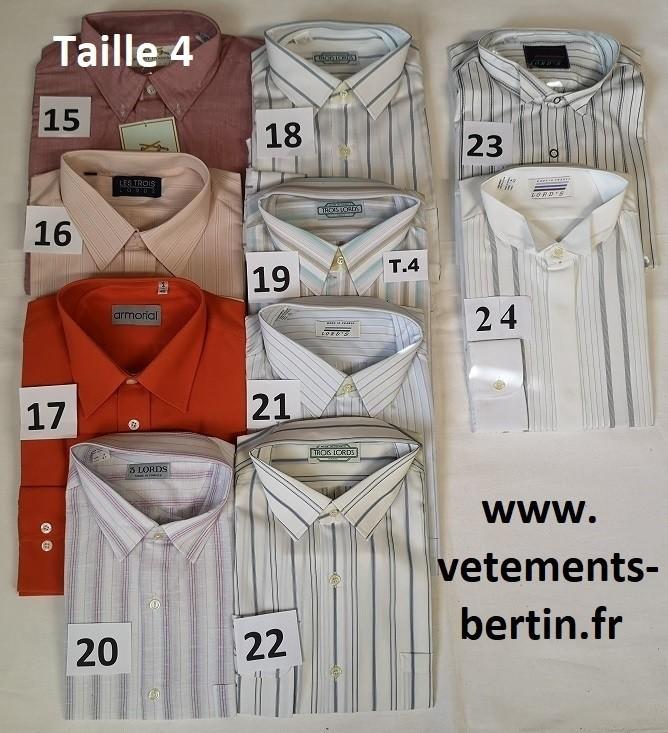 Chemise, Taille 4, Internet, www.vetements-bertin.fr - Voir en grand