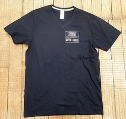 T-shirt Noir l'homme - T-SHIRT PERSONNALISE A MESSAGE - TIME'S - CADEAUX PERSONNALISES - Voir en grand