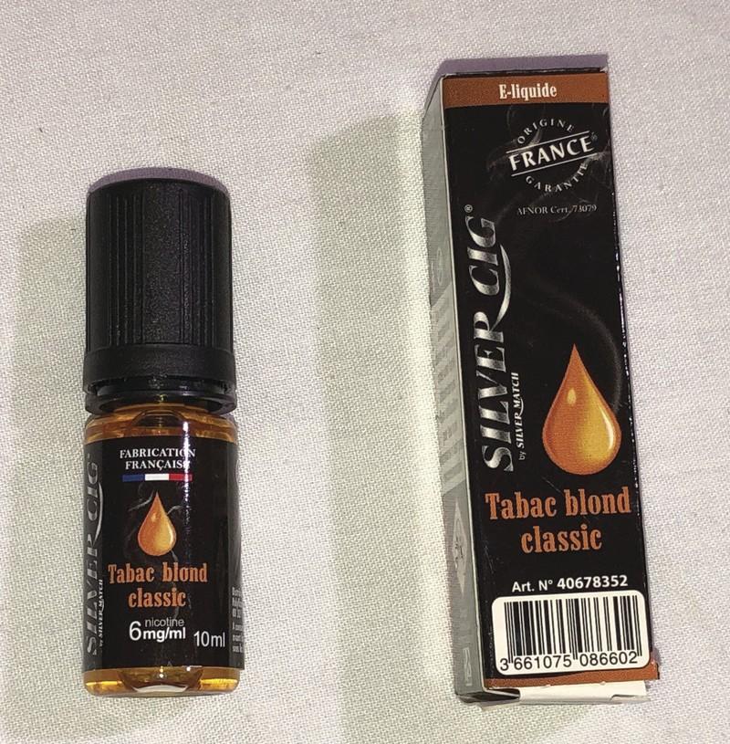 E liquide SILVER CIG tabac blond classic  - Voir en grand