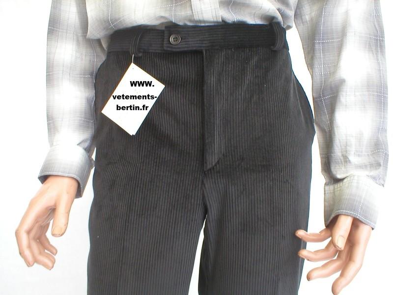 Pantalon homme, confortable en velours, premier choix - Voir en grand