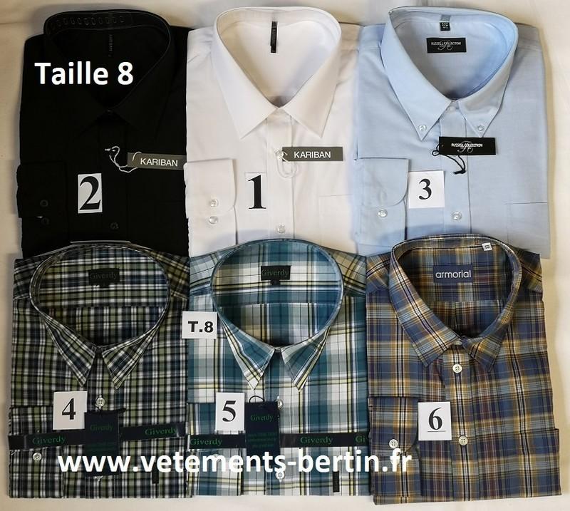 Chemises, Tailles 8, Internet, www.vetements-bertin.fr - Voir en grand