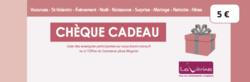 CHEQUE CADEAU VITRINES DE NANCY 5¤ - ACHAT CHEQUES CADEAUX  - Les Vitrines de Nancy  - Voir en grand