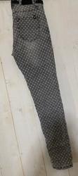 Jean de la marque Toxik gris imprimé pois - 4.jpeg