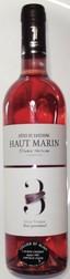Côtes de Gascogne Haut Marin rosé 2017 - BOUTEILLES (Rosés) - CELLIER SAINT ALAIN - Voir en grand