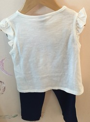 Tee Shirt Blanco lana PLEASE - Anne plumes Nancy  - Voir en grand