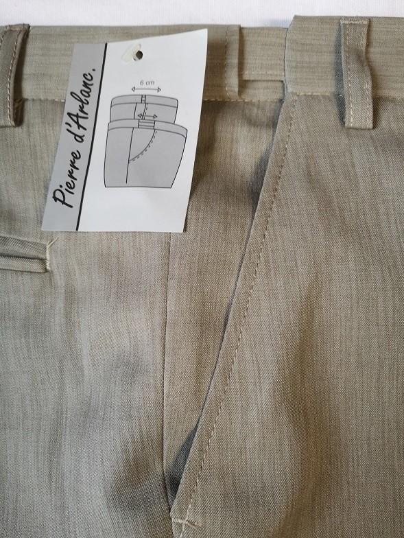 Pantalon Homme Habillé, ceinture confort, élastique discret dans la ceinture de chaque côté WWW.vete - Voir en grand