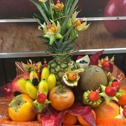 LA GOURMANDE - Corbeille de fruits frais Gourmandes - AUX QUATRE SAISONS - Voir en grand