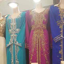 Robe Dubai Fushia  - Voir en grand
