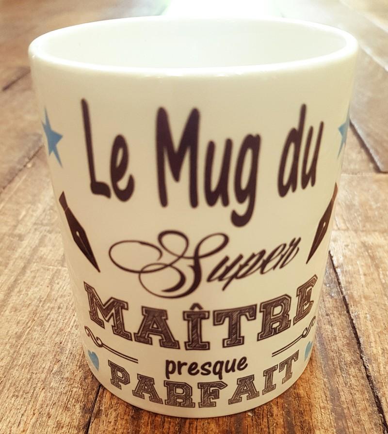 Le mug du super maître presque parfait - Voir en grand