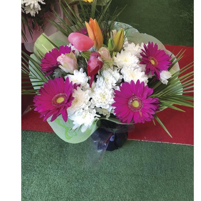 Bouquet bulle varié  - Fêtes des mères  - Fleurs de l'est  - Voir en grand