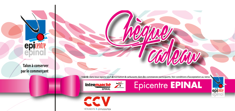 Chèque Cadeau EPICENTRE EPINAL - CHEQUES CADEAUX - ACHATS & LISTE COMMERÇANTS - EPICENTRE - Voir en grand