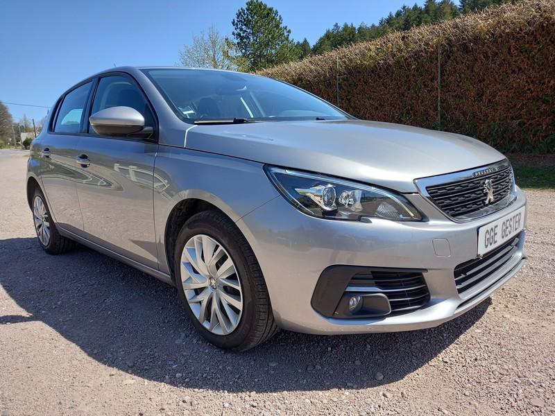 PEUGEOT 308 II STE 1.6 BLUEHDI 100 GPS 2 PLACES 50521 KMS - Vente de voiture d'occasion Peugeot - GARAGE GESTER vente de voitures d'occasions - Voir en grand