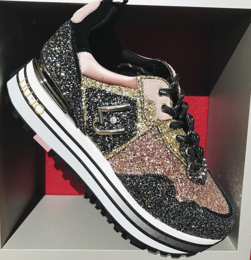 sneakers liu jo glitter - Voir en grand