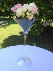 "Décoration Vase ""Martini"""