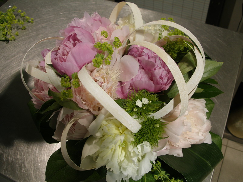 Bouquet de pivoines - Voir en grand