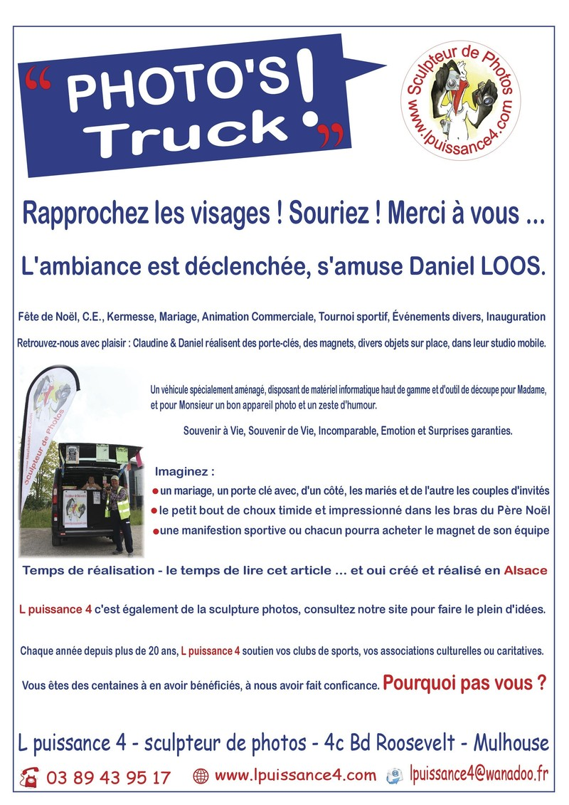 photo's truck -  - L Puissance 4 - Voir en grand