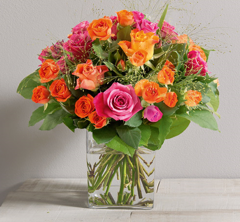 Clémentine - Bouquets ronds - Fleurs Vetter... Votre fleuriste à Thann - Voir en grand