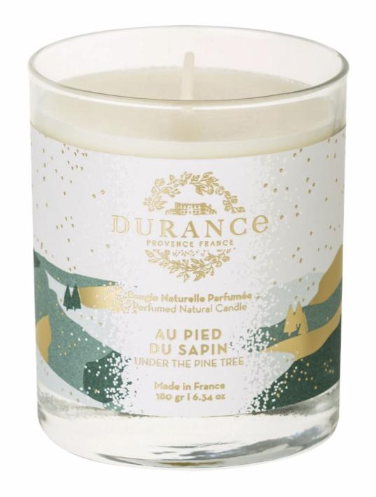Bougie parfumée de Noël 180 g - Les Ephémères de Noël - JALLA  - Voir en grand