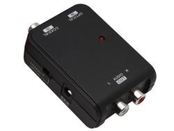 Adaptateur audio numérique RCA/Toslink vers RCA analogique - Home cinéma - WIGI - Voir en grand