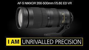 NIKON AFS 200/500 mm f 5.6 e  - OBJECTIF NIKON - PHOX - Voir en grand