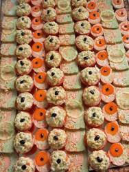Boucherie WITTMANN BRAND buffet darne saumon terrine de poissons aux petits legumes tomates farcies - Voir en grand