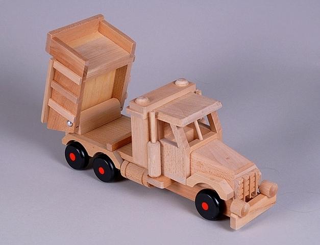 Camion en bois transport de sable - Jouet en bois - Fleurs Vetter... Votre fleuriste à Thann - Voir en grand