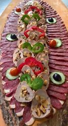 Boucherie WITTMANN BRAND buffet magret de canard et Médaillons de filet mignon de porc aux amandes - Voir en grand