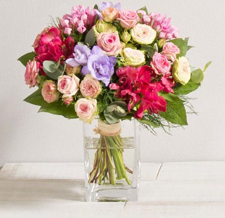 Solène - Bouquets ronds - Fleurs Vetter... Votre fleuriste à Thann - Voir en grand